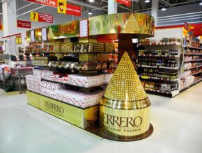 Рекламная стойка Ferrero