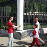 Стимулирующая промоакция для Benetton ко Дню защиты детей