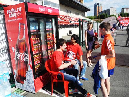 Промо персонал Кока-Кола