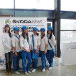Провели акцию в ТРК Колизей для SKODA Rapid