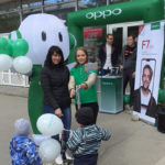 Промо нового смартфона OPPO F7