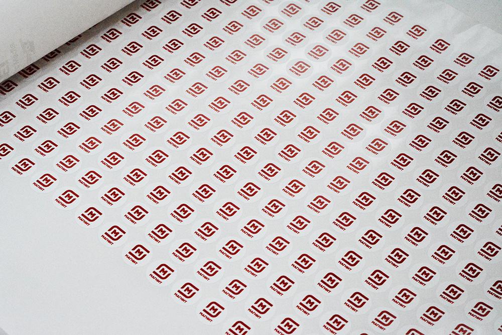 Печать стикеров в Перми