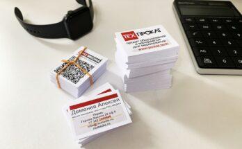 Русские визитки
