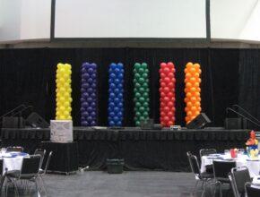 Оформления воздушными шарами для мероприятий