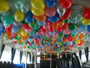 Оформление воздушными шарами в Перми