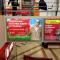 Разместили рекламу МТС в ТРК Столица
