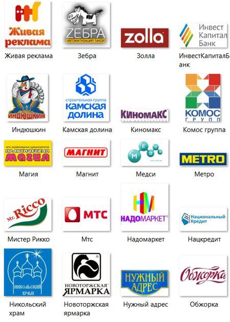 Клиенты рекламного агентства