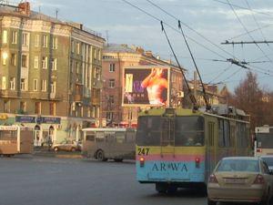 Светодиодный экран Пермь - Городской телевизор