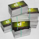 Печать визиток является процессом повседневным, но творческим