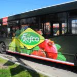 20 автобусов — оптимальное количество для размещения рекламы на транспорте
