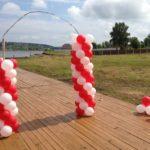 Арка из воздушных шаров в п. Ильинский
