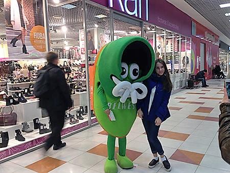 BELWEST Пермь открытие - ростовая кукла