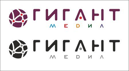 Логотип Гигант Медиа