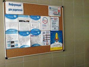 Плакаты в школах Перми