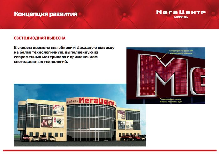 Планы развития Мега центра